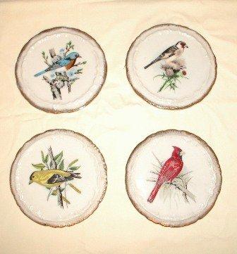 Bird Trivets Japan Set of Four