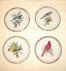 Bird Trivets Japan Set of Four