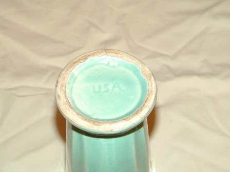 Vase USA Turquoise 7 Inches Tall
