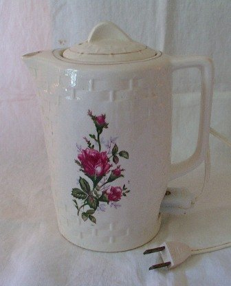 Moss Rose Lobeco Japan Electric Coffee Pot Tea Pot