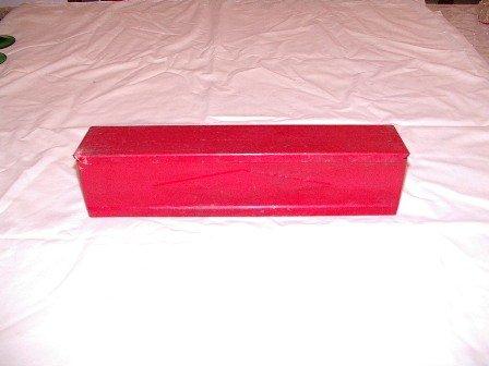 Red Wax Paper Dispenser