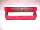 Red Wax Paper Dispenser