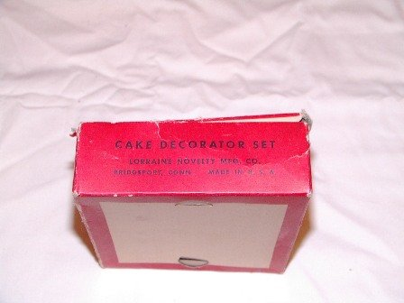 Vintage Cake Decorator Set Made in USA