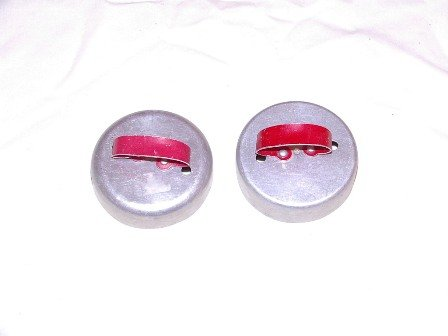 Red Handled Bisquit Donut Cutters