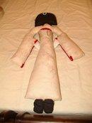 Handmade Japanese Doll 26 Inches Tall