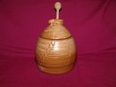 Honey Bee Honey Pot by Frankoma Mayan Aztec
