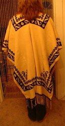 Vintage Wool Poncho