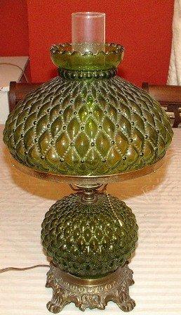 Green Lamp Diamond Quilt Pattern