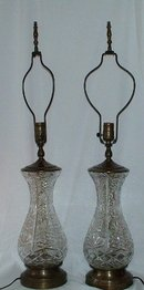 Vintage Leaded Crystal Lamps