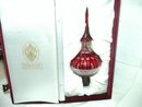 Faberge Crystal Tree Topper Signed Limited Edition