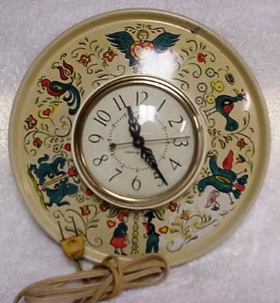 Vintage General Electric Clock Friendship Pattern