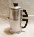 Tiny Drip Coffee Pot 2 Cup Wear Ever