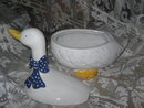 Large Goose Cookie Jar