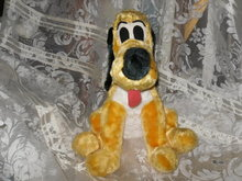 Vintage Walt Disney Productions Pluto Plush Toy