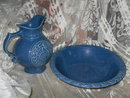 Vintage McCoy Bowl & Pitcher Set