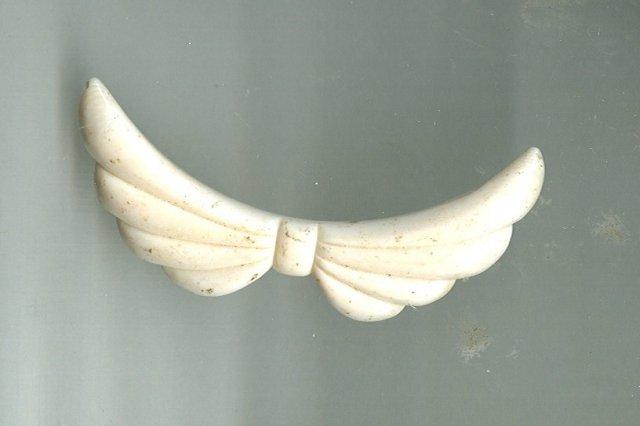 Vintage Carved Ivory Pendant