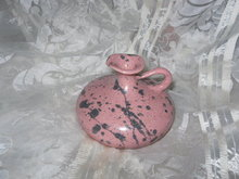 Hand Made Pink Pottery Jug