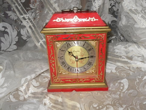 Red Smythe Mantle Clock