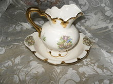 Vintage Small Bowl & Pitcher Set