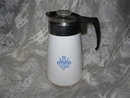 Vintage Corning Ware Coffee Pot