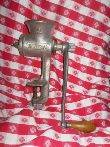 Vintage Cast Iron Kitchen Grinder