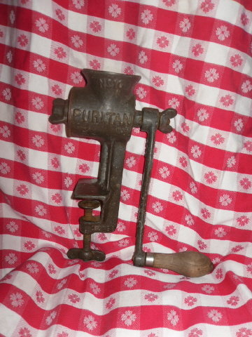 Vintage Griswold Puritan Cast Iron Kitchen Grinder