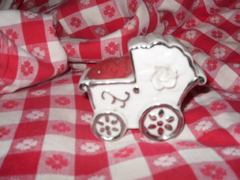 Vintage Baby Buggy Pin Cushion