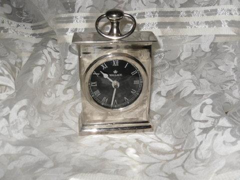Wallace Silver Clock
