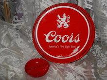 Vintage  Coors Metal Tray