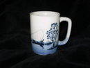 Vintage Art Pottery Fisherman Coffee Mug