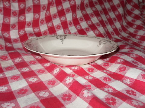Vintage Crown Potteries Co. Dinnerware Bowl