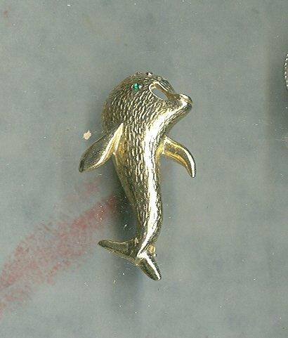 Rare Vintage Bobley Dolphin Pin