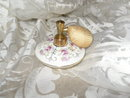 Vintage Porcelain Perfume Bottle w/Atomizer