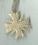 Maltese Cross Pendant & Chain