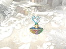 Miniature Art Glass Perfume Bottle