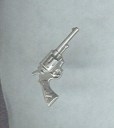 Vintage Sterling Silver Gun Tie Tack