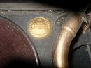 Vintage Hand Crank Phonograph Record Player
