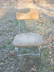 Vintage Heywood Wakefield Chair & Desk Set