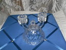 Vintage Crystal Double Candle Holder