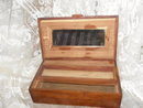 Vintage Cedar Jewelry Box or Storage Chest