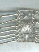 Vintage Mexican Silver Bracelet  **Signed**