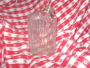 Vintage Glass Refrigerator Bottle