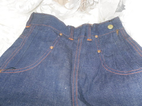 Vintage Big Smith Red Stitch Denim Jeans