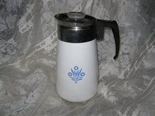 Vintage Corning Coffee Pot  **6 Cup