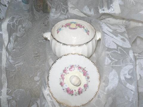Vintage Vanity Fair Limoges Sugar Bowl