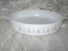 Vintage Fire King Baking Dish
