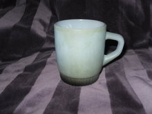 Vintage Fire King Stackable Blue Mug