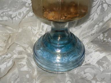 Vintage Kerosene Oil Lamp with P & A Mfg Burner