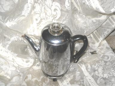 vintage Sunbeam Deluxe Coffee Percolator