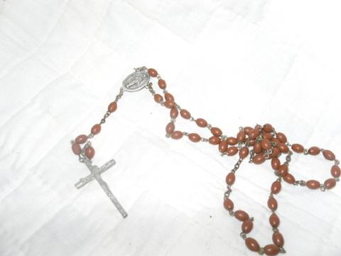 Vintage Italian Rosary Beads w/Crucifix